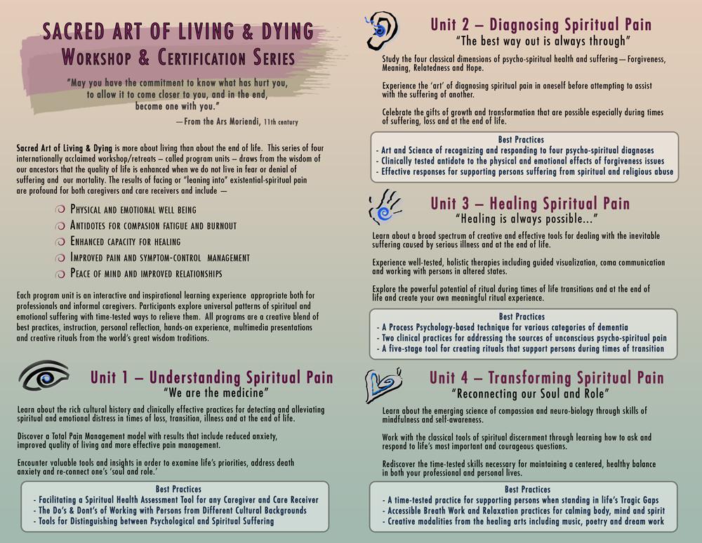 Sacred Art of Living & Dying -