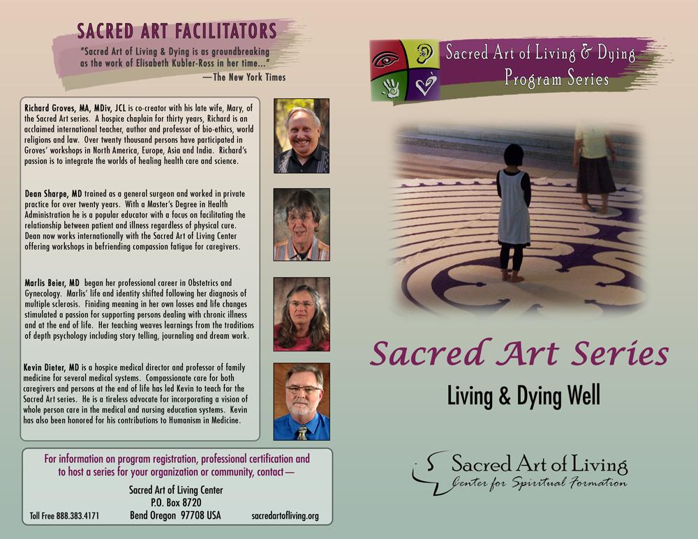 sacred art of living dying